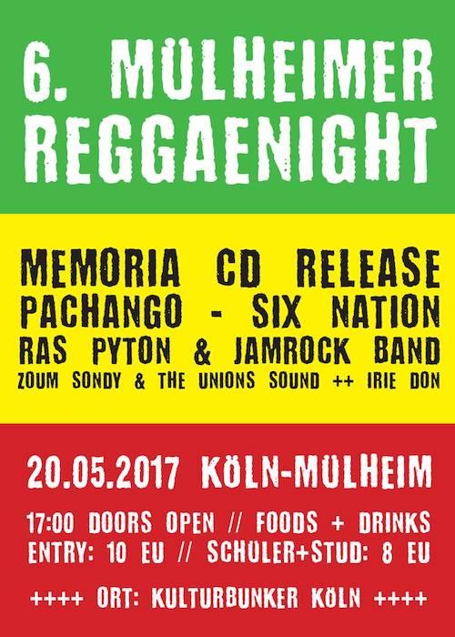 Mühlheimer Reggae Night 2017