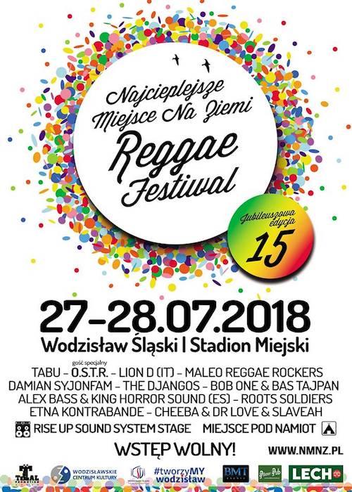 Najcieplejsze Miejsce Reggae Festival 2018