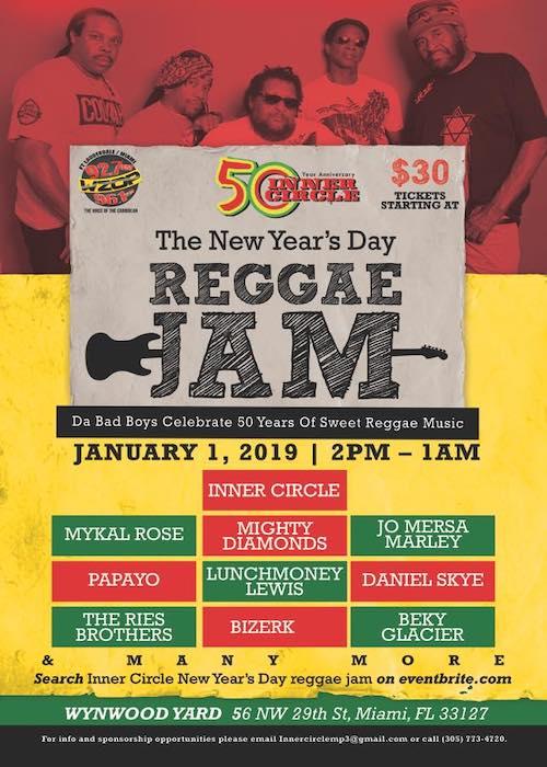 New Year's Day Reggae Jam 2019