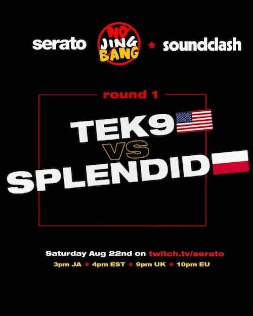No Jing Bang Soundclash 2020 - Tek9 vs Splendid Sound