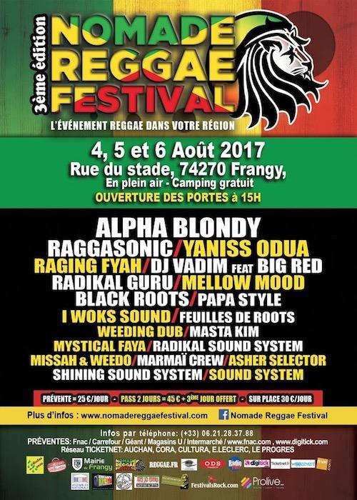 Nomade Reggae Festival 2017