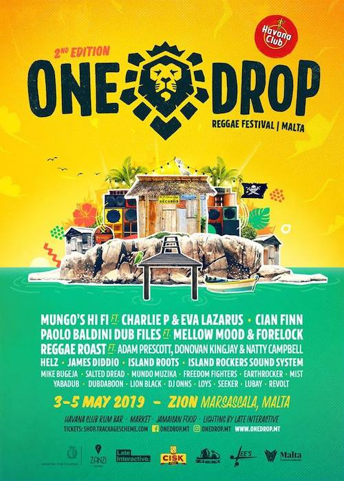 One Drop Reggae Festival 2019 - Malta