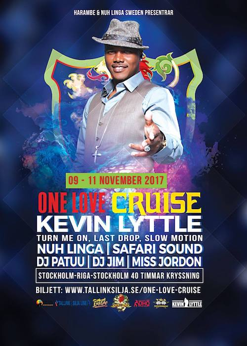One Love Cruise 2017 - Sweden