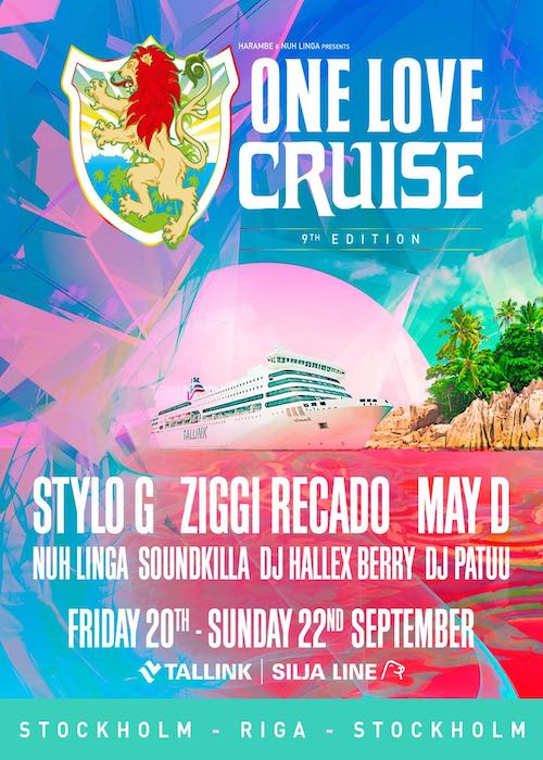 One Love Cruise 2019 - Sweden