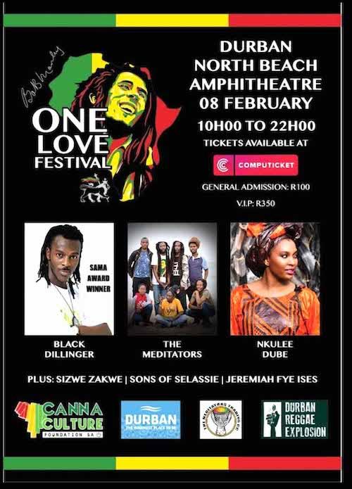 Bob Marley One Love Festival - Durban 2020