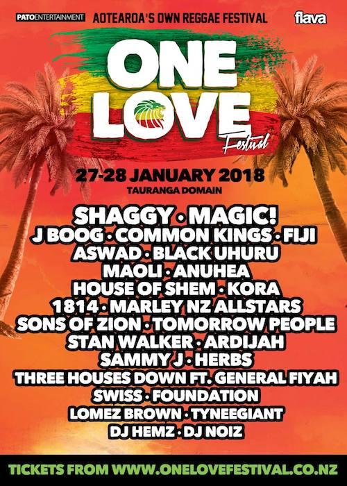 One Love Festival NZ 2018