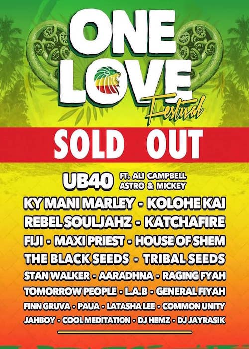 One Love Festival NZ 2019
