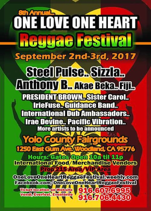 One Love One Heart Reggae Festival 2017