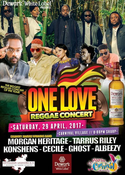One Love Reggae Concert 2017 - St. Maarten