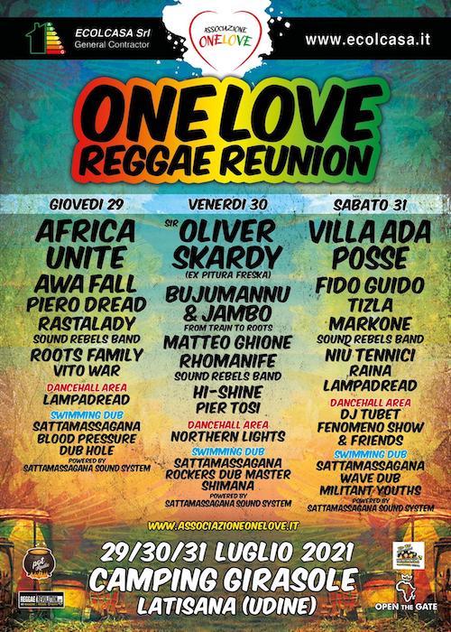 One Love Reggae Reunion 2021