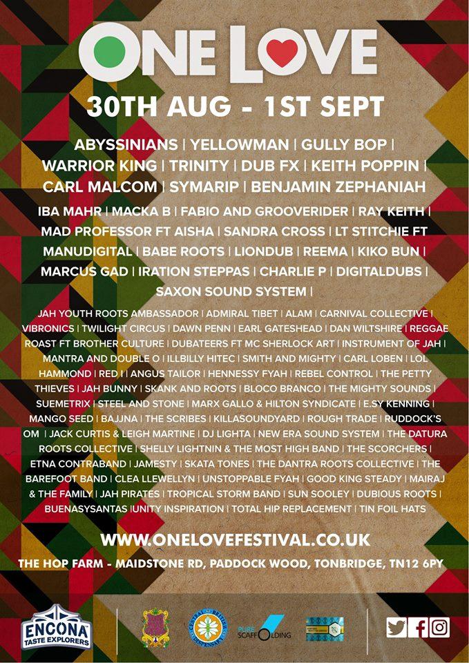 One Love Festival - UK 2019