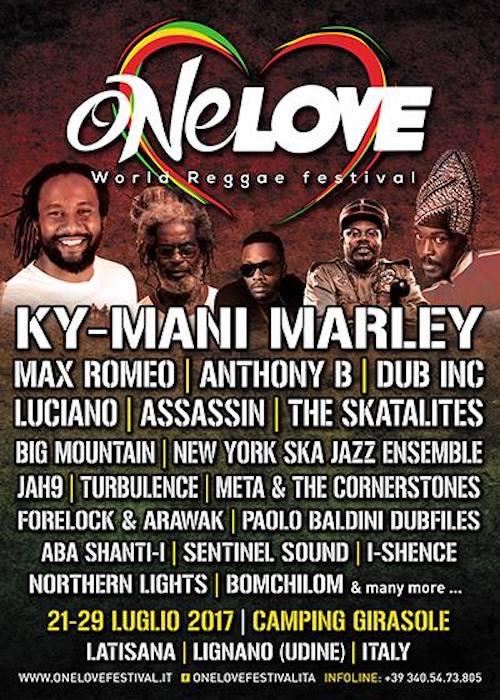 One Love World Reggae Festival 2017