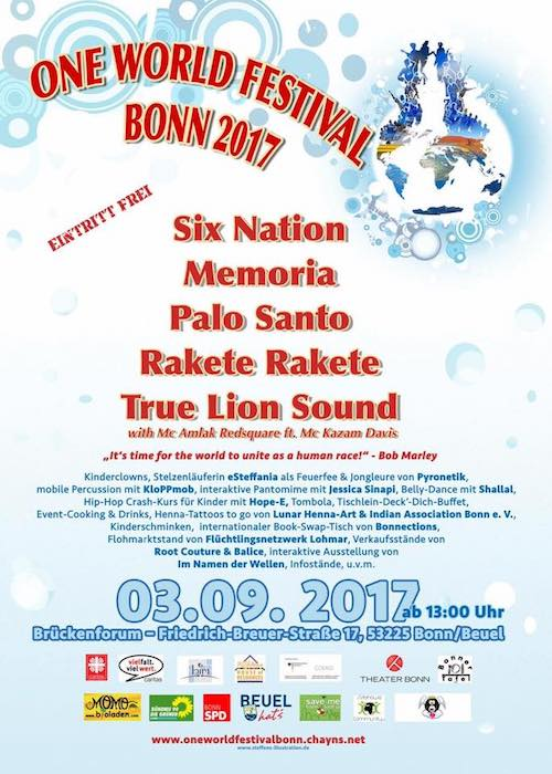 One World Festival Bonn 2017