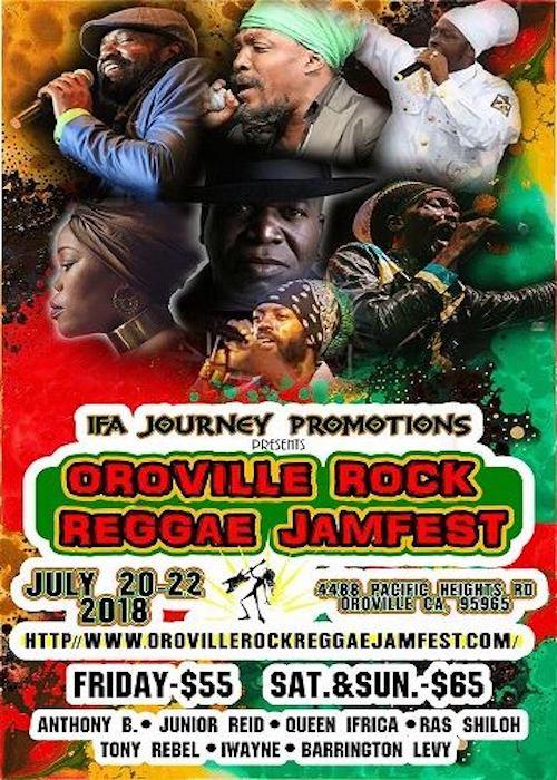 Oroville Rock Reggae Jamfest 2018