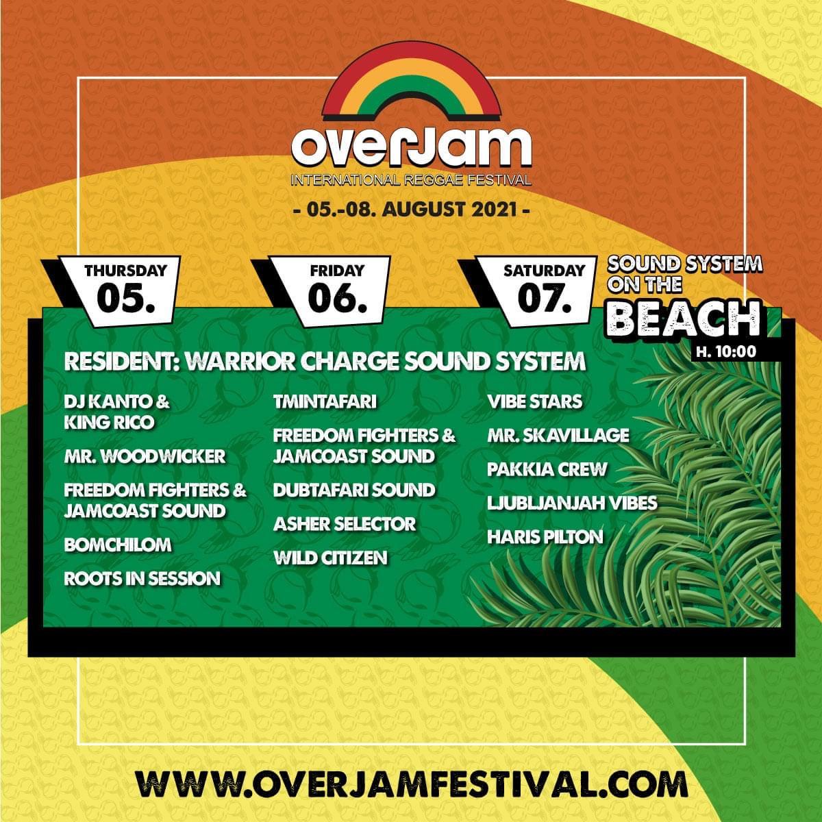 Overjam Reggae Festival 2021
