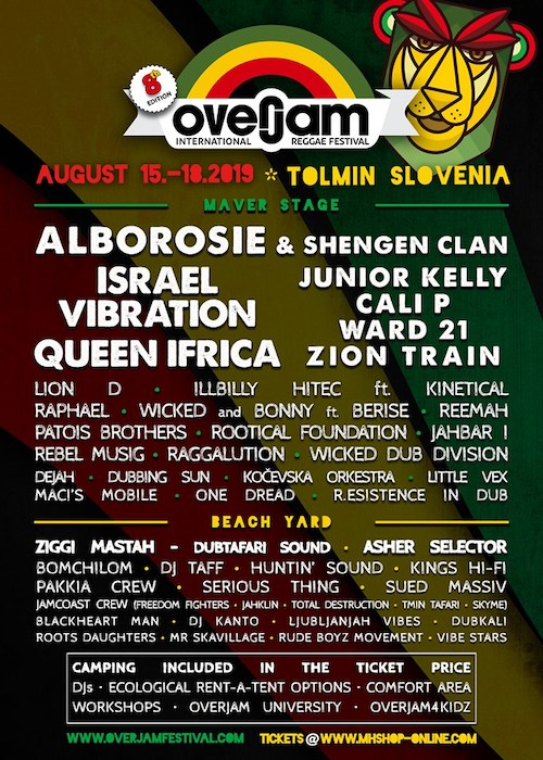 Overjam Reggae Festival 2019