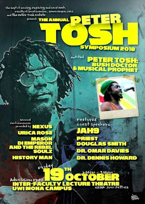 Peter Tosh Music Festival 2018