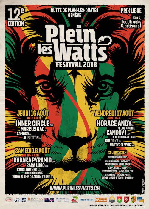 Plein Les Watts 2018