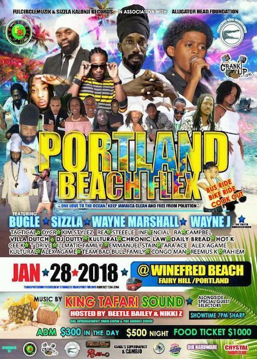 Portland Beach Flex 2018