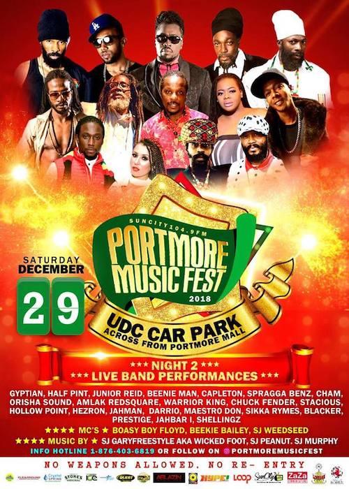 Portmore Music Fest 2018