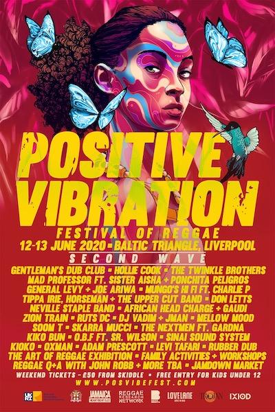 POSTPONED: Positive Vibration 2020 - Festival Of Reggae