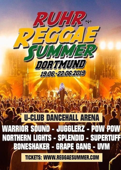 Ruhr Reggae Summer - Dortmund 2019