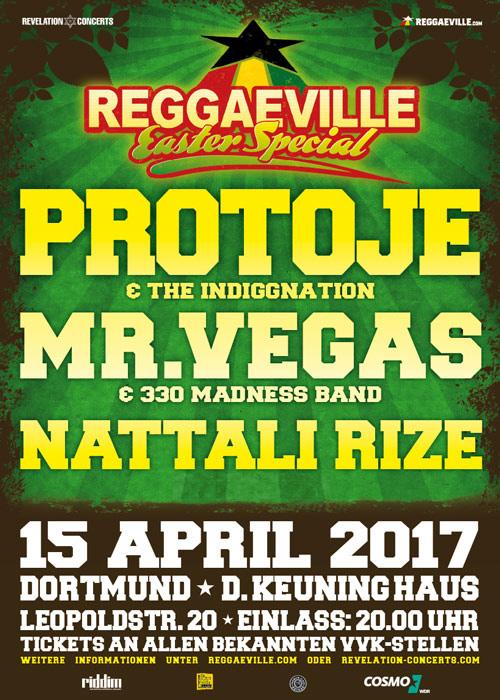 Reggaeville Easter Special - Dortmund 2017