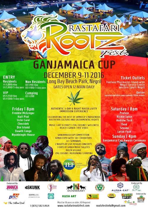 Rastafari Rootz Fest - Ganjamaica Cup 2016