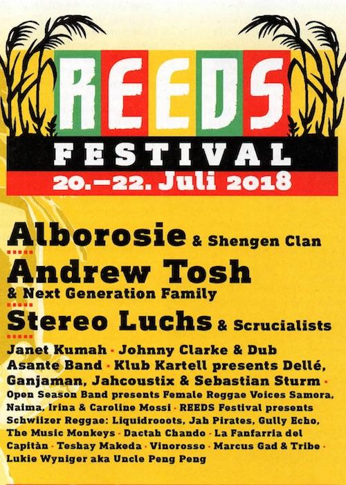 Reeds Festival 2018