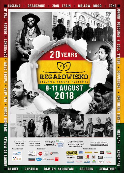 Regalowisko Bielawa Reggae Festival 2018