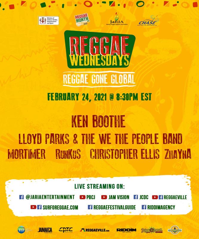 Reggae Wednesdays - Reggae Gone Global 2021