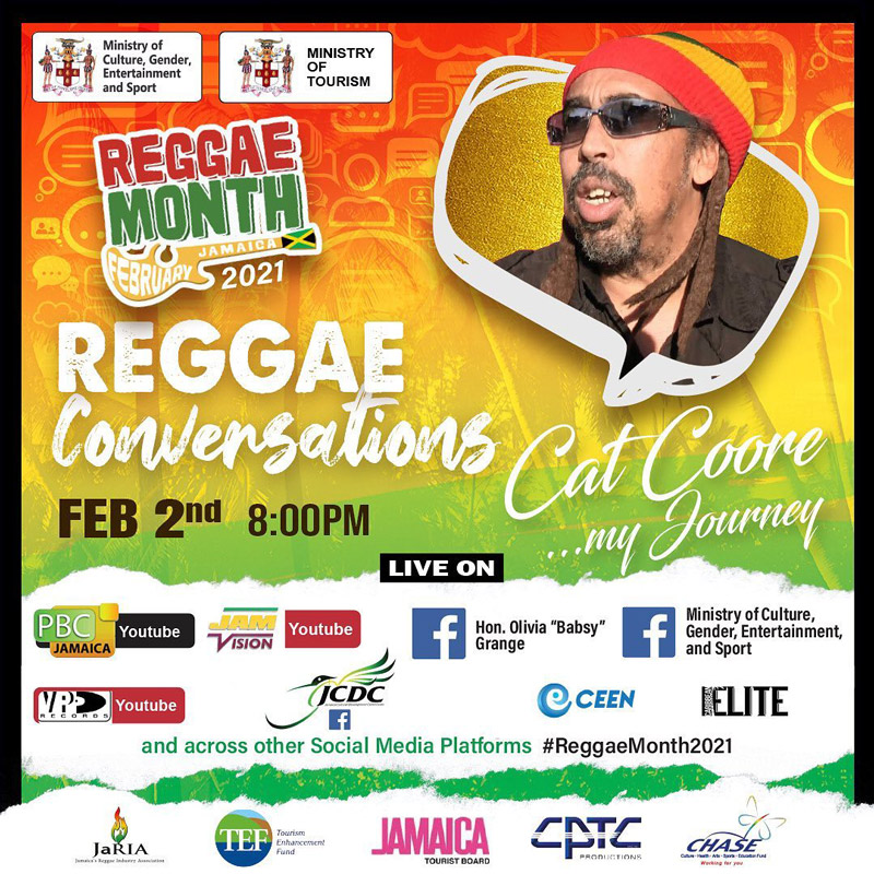 Reggae Conversations with Cat Coore 2021