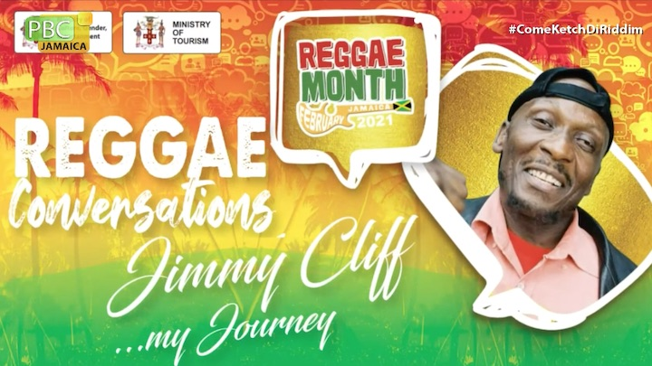 Reggae Converstions With Jimmy Cliff 2021 [2/15/2021]