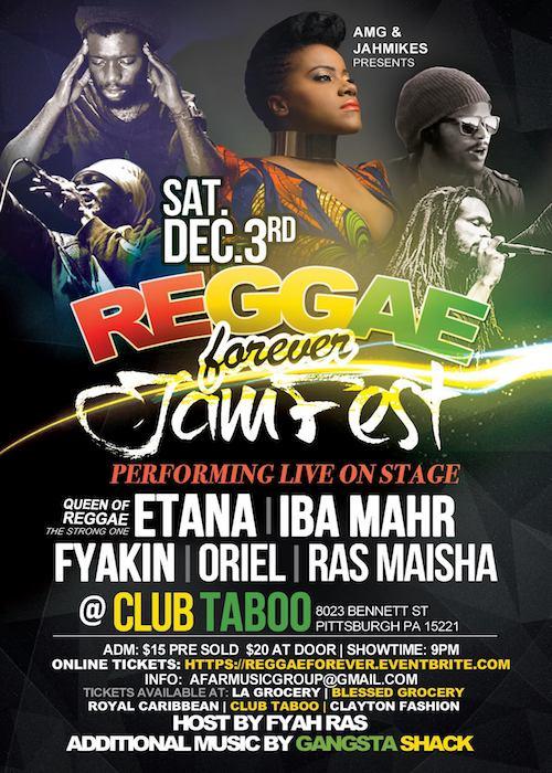 Reggae Forever Jamfest 2016