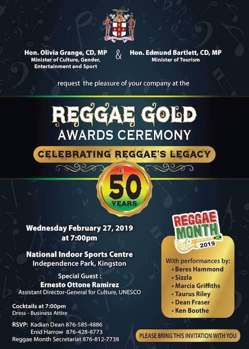 Reggae Gold Awards 2019