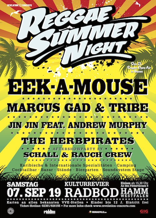 Reggae Summer Night 2019