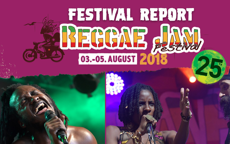 Festival Report - Reggae Jam 2018