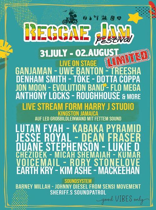 Reggae Jam Festival - Summer Lounge 2020