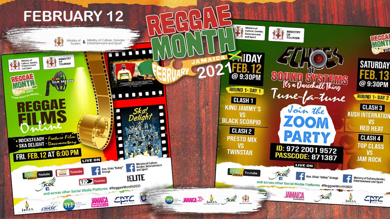 Reggae Month 2021 TV (Live Stream - February 12th) [2/12/2021]