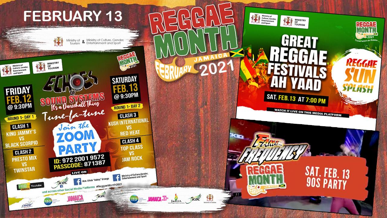 Reggae Month 2021 TV (Live Stream - February 13th) [2/13/2021]