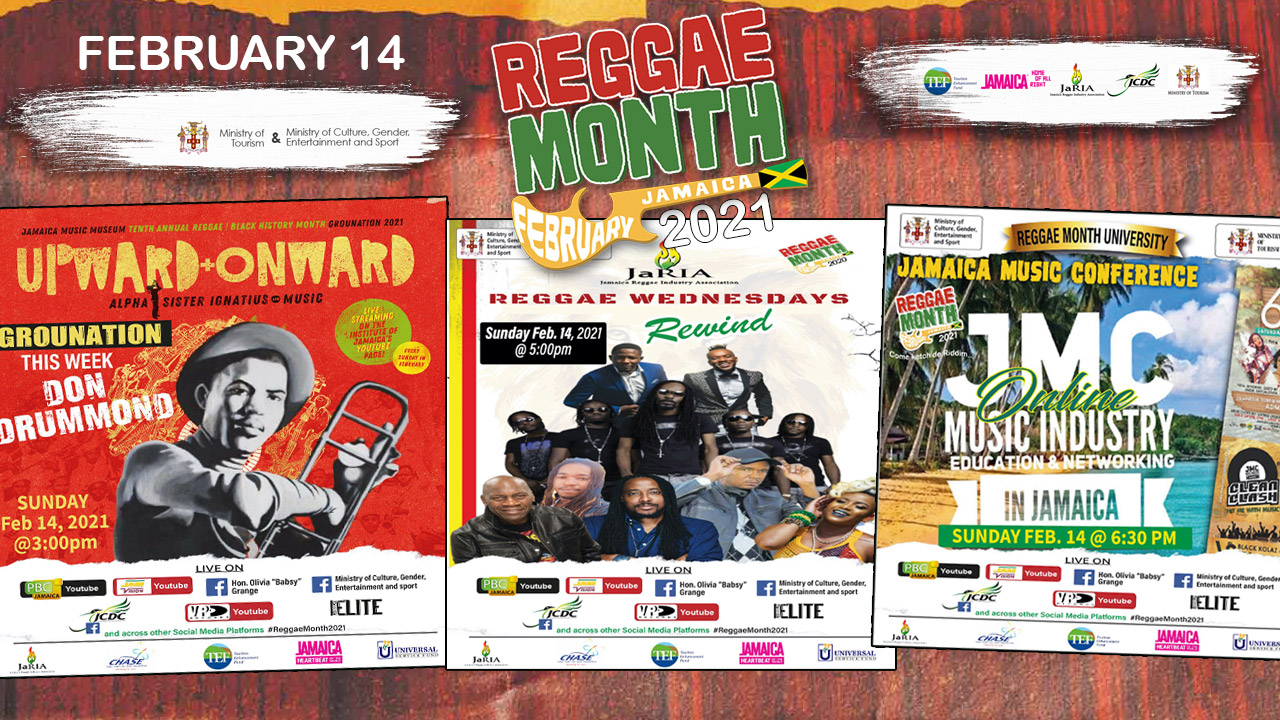Reggae Month 2021 TV (Live Stream - February 14th) [2/14/2021]
