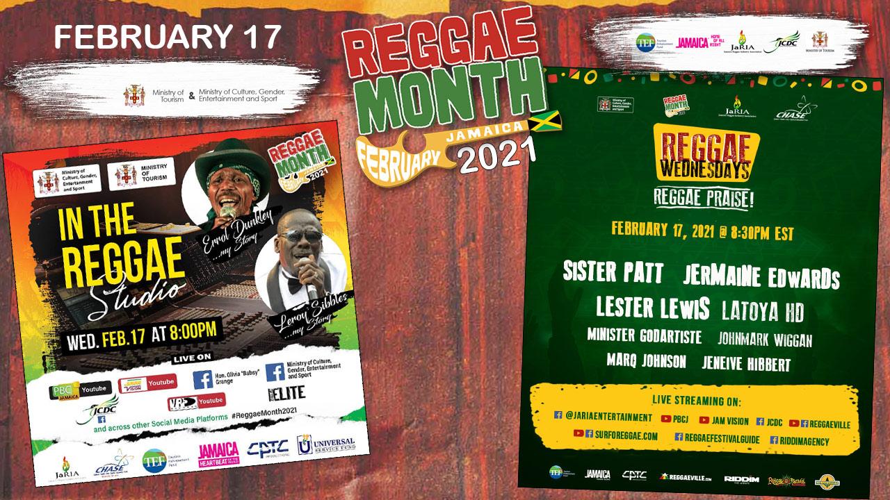 Reggae Month 2021 TV (Live Stream - February 17th) [2/17/2021]