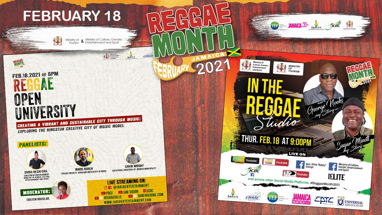 Reggae Month 2021 TV (Live Stream - February 18th) [2/18/2021]