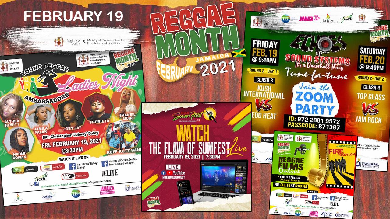 Reggae Month 2021 TV (Live Stream - February 19th) [2/19/2021]