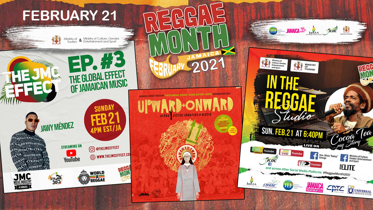 Reggae Month 2021 TV (Live Stream - February 21st) [2/21/2021]