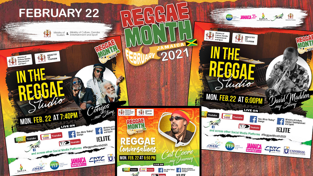 Reggae Month 2021 TV (Live Stream - February 22nd) [2/22/2021]