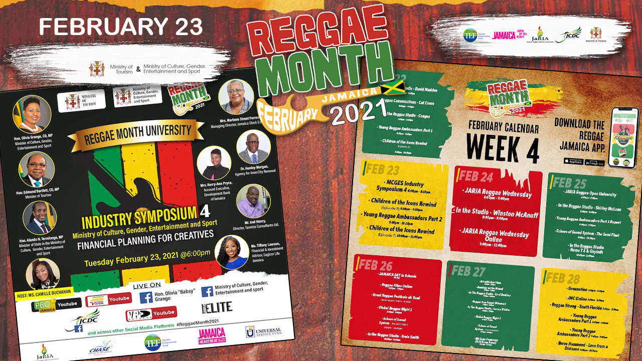 Reggae Month 2021 TV (Live Stream - February 23rd) [2/23/2021]