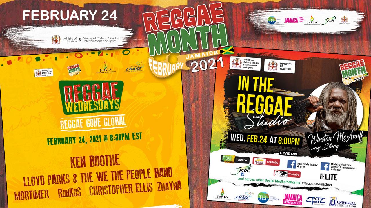 Reggae Month 2021 TV (Live Stream - February 24th) [2/24/2021]