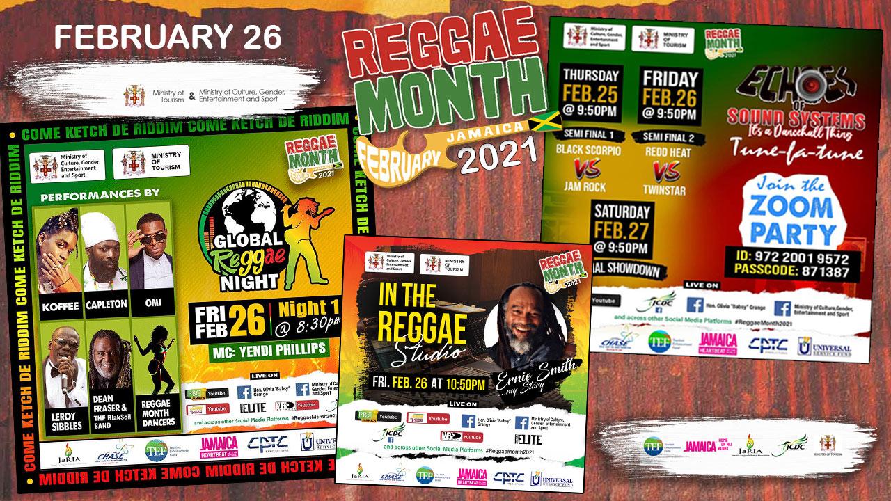 Reggae Month 2021 TV (Live Stream - February 26th) [2/26/2021]