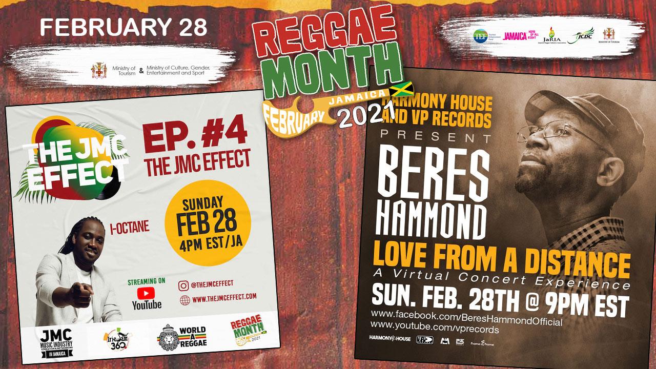 Reggae Month 2021 TV (Live Stream - February 28th) [2/28/2021]